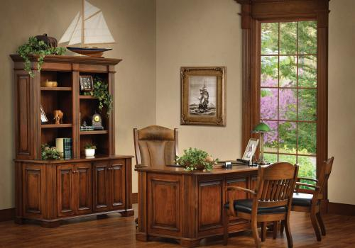 Lincoln Room Office setting. One example of the many fine options Twin Brook offers in office decor.