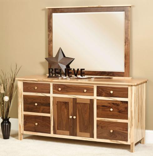 Cornwell Deluxe Dresser, two-toned