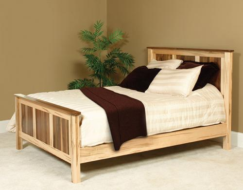 Cornwell Bed, two-toned