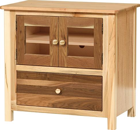 Cornwell Small TV Stand with 1 drawer and 2 doors