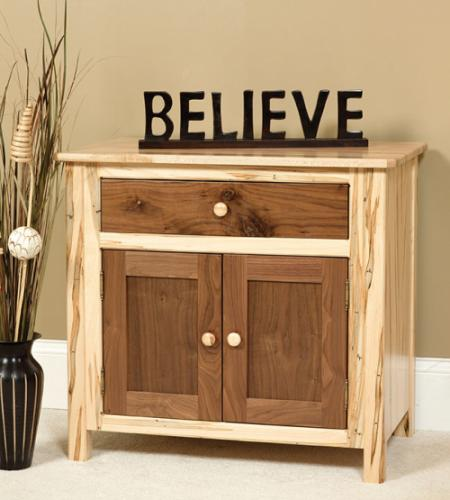 Cornwell Deluxe Nightstand, two-toned