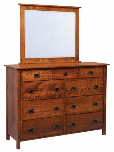 Elkins Dresser with mirror