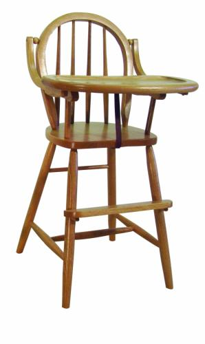 Bow Back High Chair