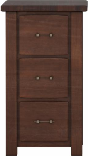 Barn Floor Office Collection Letter File Cabinet - 3 drawer