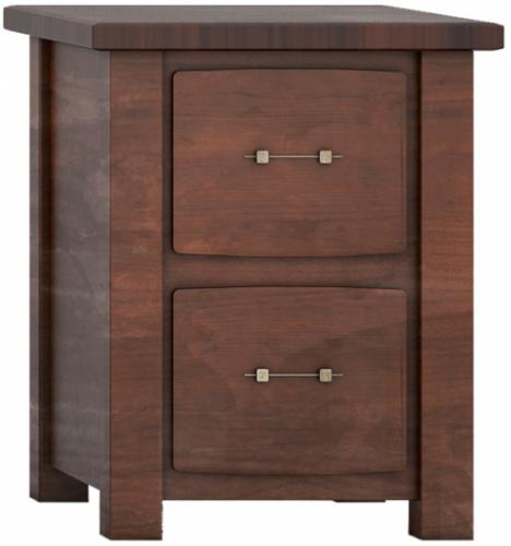 Barn Floor Office Collection Letter File Cabinet - 2 drawer