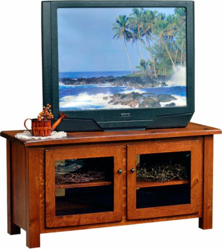 Barn Floor Top TV Stand - narrow