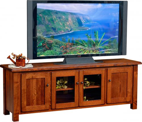 Barn Floor Top TV Stand - low and wide