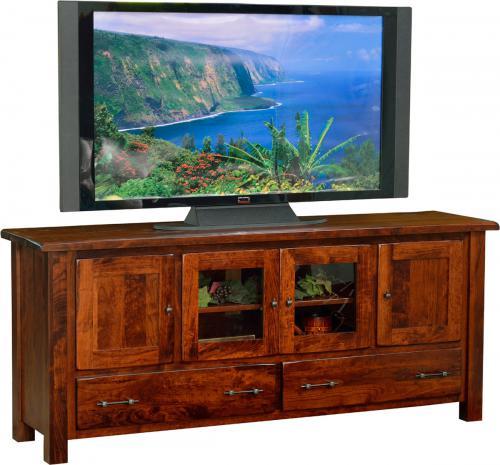 Barn Floor Top TV Stand - wide