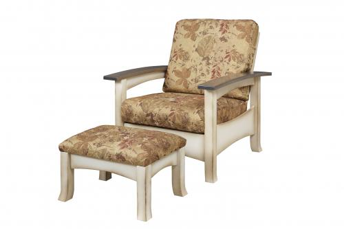 Breezy Point Morris Chair and Ottoman