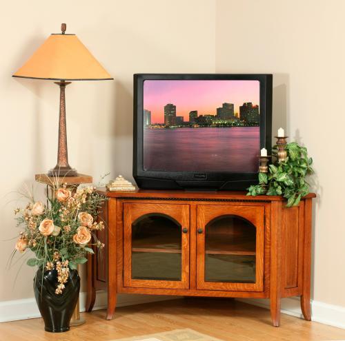 Bunker Hill Corner TV Stand