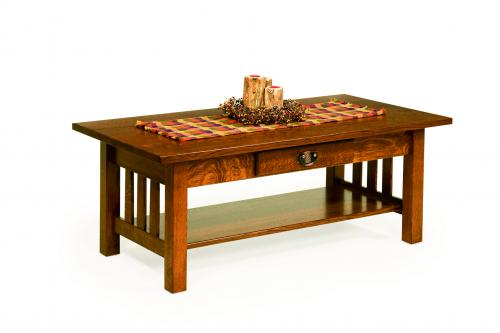 Classic Mission Coffee Table