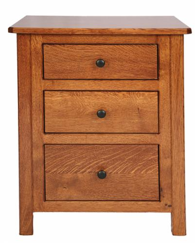 Cornwell Nightstand with 3 drawers