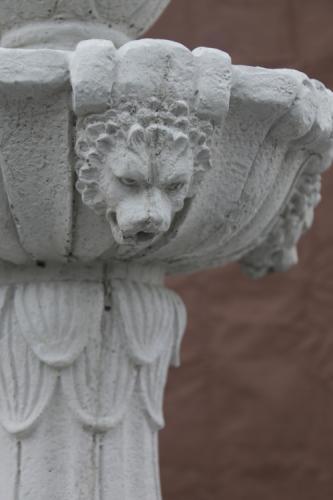 Lion's Head Fountain - detail
