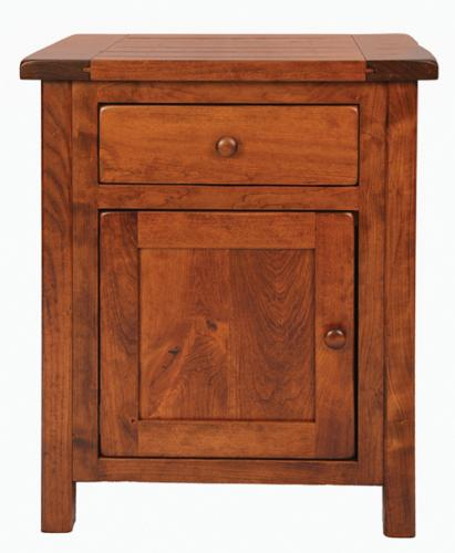 Kingston Nightstand with 1 drawer and 1 door