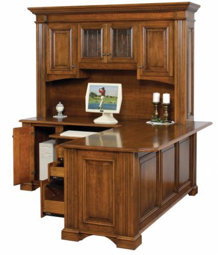 Lincoln Corner Desk, side view