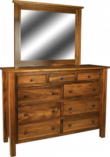 Lindholt Tall Dresser with mirror