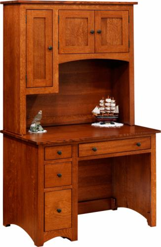 Modern Shaker Desk and Hutch