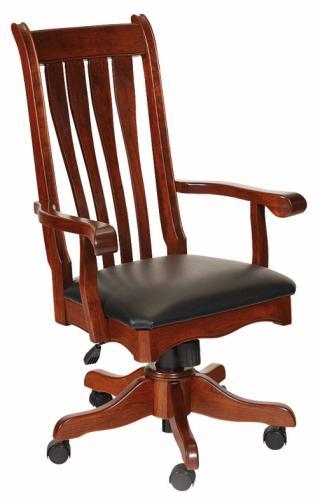 Hampton Desk Chair Upholstered
