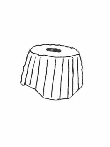 """Pump Housing - 10"""" diameter, 7"""" high"""