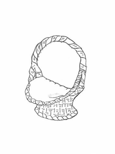 """Large Basket - 27"""" diameter, 33"""" high"""