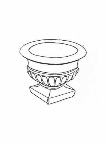"""Empire Jr. Pot - 14"""" diameter, 10"""" high"""