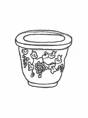 "Large Grapevine Pot - 21"" diameter, 17"" high"