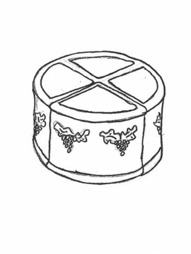 """Four Piece Grape Planter - 19 1/2"""" diameter"""