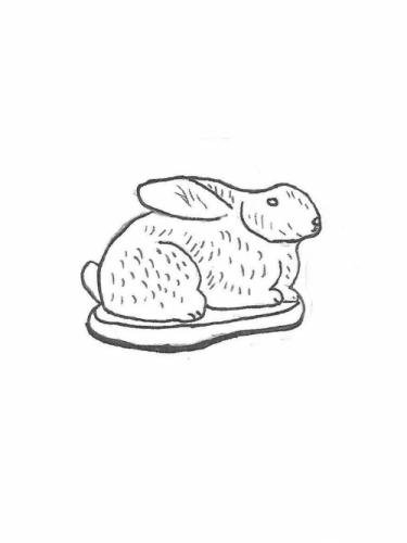 Detailed Medium Rabbit - 10""