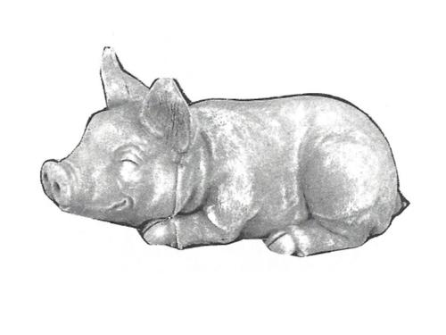 """Porky Pig - 13"""" long"""