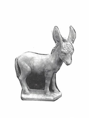 """Donkey - 26"""" x 34"""" high"""