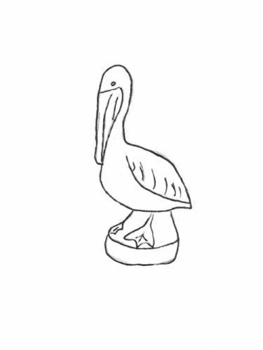 "Large Pelican - 21"""