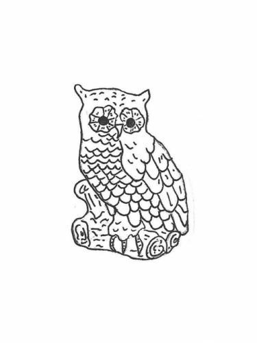 """Extra Large Owl - 20"""""""