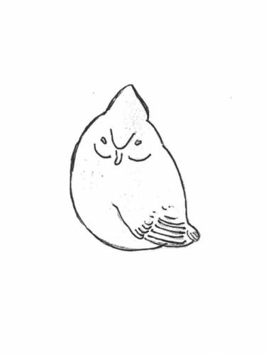 "Bird - short tail, 5"""