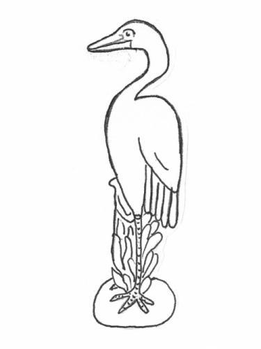 "Blue Heron - 39"""