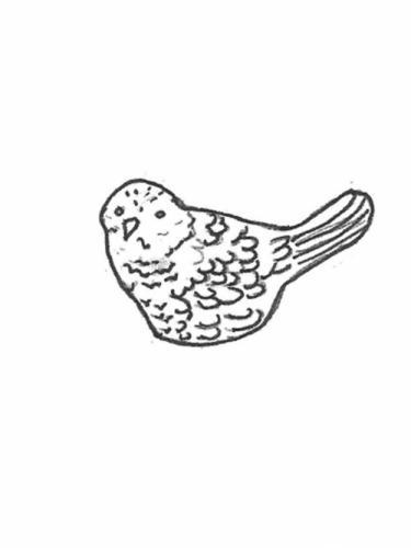 """Bird - tiny, 3"""""""