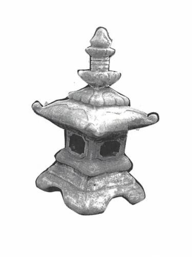 "Pagoda Tall Roof - 16"" diameter, 28"" high"