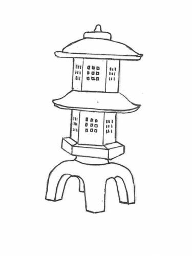 """Suki Lantern (double) - 17"""" x 33"""""""