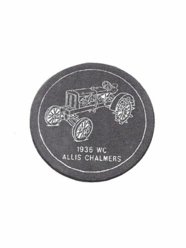 Tractor Stone - Allis Chalmers