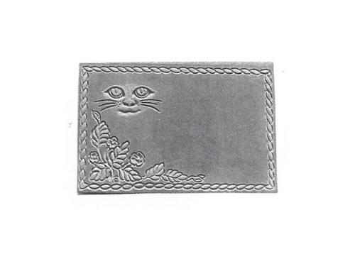 "Pet Marker Stone - Cat Face - 8"" x 11"""