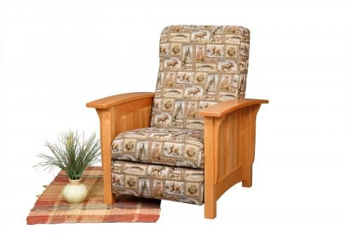Paneled Mission Recliner