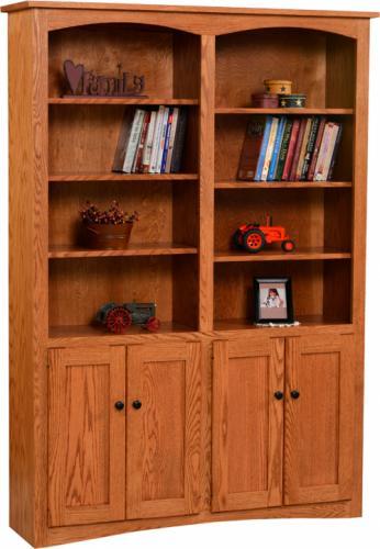 Shaker Wide Bookcase