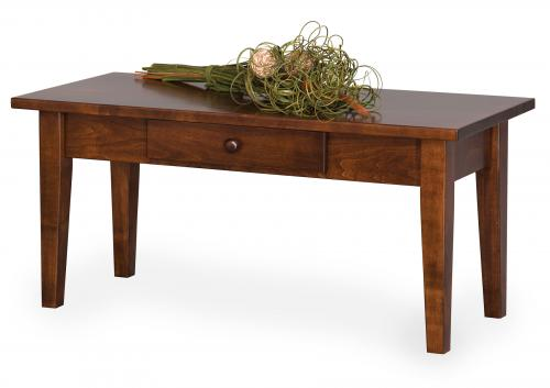 Shaker Petite Coffee Table with Drawer