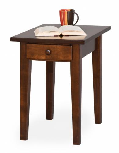 Shaker Petite End Table with Drawer