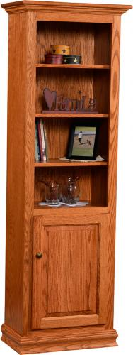 Traditional Narrow Bookcase