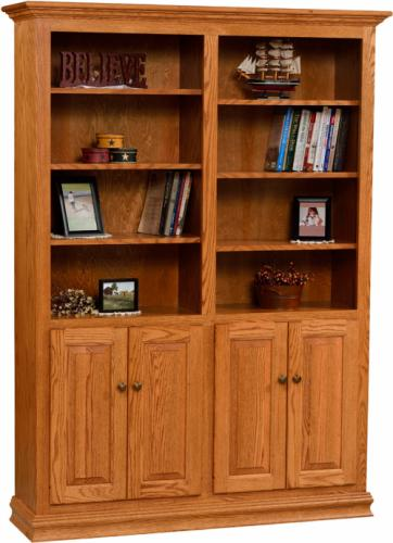Traditional Wide Bookcase