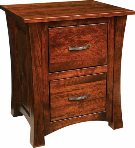 Woodbury Nightstand - 2 drawers