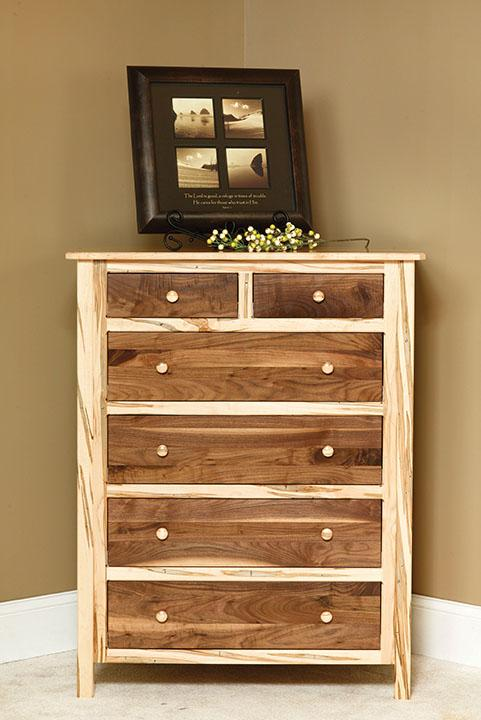 Cornwell Chest of Drawers, two-toned