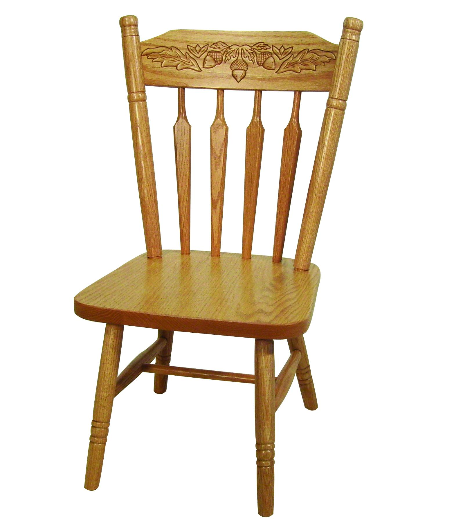Acorn Back Child's Chair