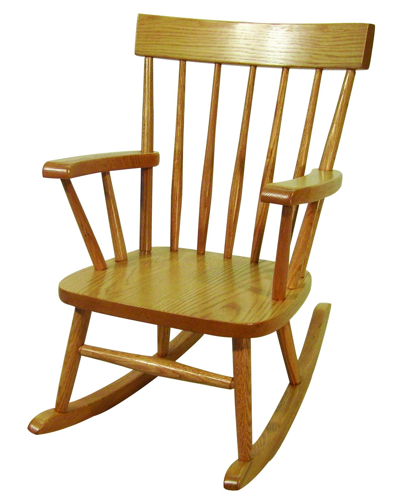 Comb Back Child's Rocker
