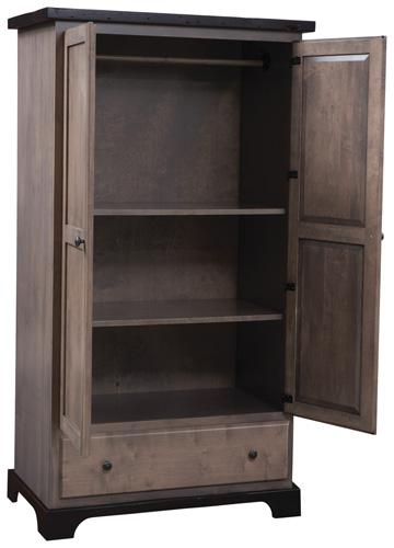 Manchester Armoire pictured open